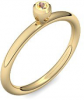 Goldring Citrin 585 + inkl. Luxusetui + PORTOFREI Citrin Ring Gold Citrinring Gold (Gelbgold 585) - Lovers Amoonic Schmuck