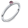 Silber Ring Turmalin pink 925 + inkl. Luxusetui + PORTOFREI Turmalin pink Ring Silber Turmalin pinkring Silber (Silber 925) - Grace Amoonic Schmuck
