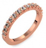 Memoire ring Rotgold Ring Rauchquarz 585 + inkl. Luxusetui + PORTOFREI Rauchquarz Ring Rotgold Rauchquarzring Rotgold (Rotgold 585) - Classiness Amoonic Schmuck