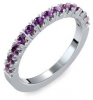 Memoire ring Silber Ring Amethyst 925 + inkl. Luxusetui + PORTOFREI Amethyst Ring Silber Amethystring Silber (Silber 925) - Classiness Amoonic Schmuck