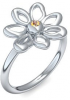 Blumenring Ring Blume Blumig Silber Ring Citrin 925 + inkl. Luxusetui + PORTOFREI Citrin Ring Silber Citrinring Silber (Silber 925) - Say it with flowers Amoonic Schmuck