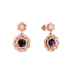 Rotgold Ohrringe Amethyst 585 + inkl. Luxusetui + PORTOFREI Amethyst Ohrringe Rotgold Amethystohrringe Rotgold (Rotgold 585) - Les Petit Fleurs Amoonic Schmuck