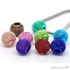 Perle Colour Your Life - freie Farbwahl silber