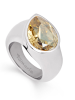 Tamaris Amy Ring A00210077 Gr. 58 Tropfen Stahl Golden Shadow