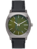 NIXON A045-2070 Time Teller Gunmetal Green Oxyde Black 37mm 10ATM