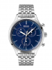Herrenuhr Chronograph Companion BOSS blau
