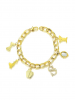 Couture Kingdom Armband Disney Schneewittchen ´Charms´ Couture Kingdom Gelbgold