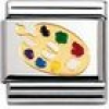 Nomination Classic - DAILY LIFE Edelstahl, Email und 18K-Gold (Farbpalette)