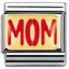 Nomination Classic - MESSAGES Edelstahl, Email und 18K-Gold (MOM)