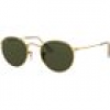 Ray Ban Sonnenbrille - Round Metal - RB3447-001