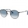 Ray Ban Sonnenbrille - Round Metal - RB3447-006/3F-50