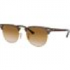 Ray Ban Sonnenbrille - Clubmaster Metal - RB3716-900851-51