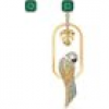 Swarovski Ohrringe - Tropical Parrot - 5519255