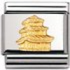 Nomination Classic - RELIEF MONUMENT Edelstahl und 18K-Gold (Pagode)