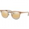 Ray Ban Sonnenbrille - Clubmaster Metal - RB3716-9157AG-51