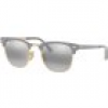 Ray Ban Sonnenbrille - Clubmaster Metal - RB3716-9158AH-51