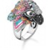 Thomas Sabo Ring - Glam and Soul - Papagei - TR2227-340-7