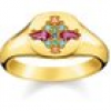 Thomas Sabo Ring - Glam and Soul - Farbige Steine - TR2231-996-7