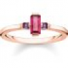Thomas Sabo Ring - Stein Rot - TR2258-540-10