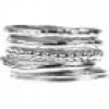 5 IN 1 Stacking Ring Set Sterling Silber
