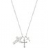TRIPLE CROSS Halskette Sterling Silber